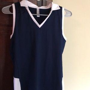 Inphorm tennis/golf sleeveless top